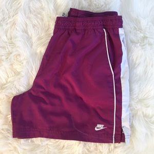 [Nike] Women's Purple Athletic Shorts Size L 12-14